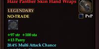 Haze Panther Skin Hand Wraps