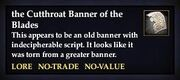 The Cutthroat Banner of the Blades