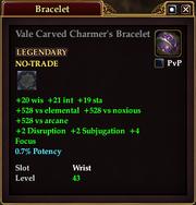 Vale Carved Charmer's Bracelet