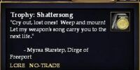 Trophy: Shattersong