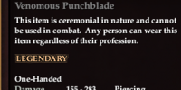 Venomous Punchblade