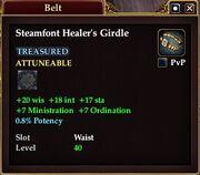 Steamfont Healer's Girdle