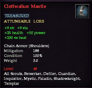 Cleftwalker Mantle