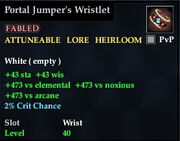 Portal Jumper's Wristlet