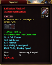 Rallosian Flask of Transmogrification