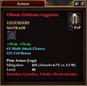 Othmir Fishbone Legplates