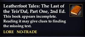 File:Leatherfoot Tales- The Last of the Teir'Dal, Part One, 2nd Ed. (Quest Starter).jpg