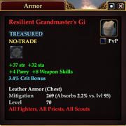 Resilient Grandmaster's Gi