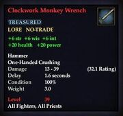 Clockwork Monkey Wrench