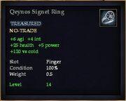 Qeynos Signet Ring