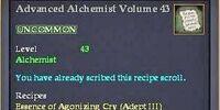 Advanced Alchemist Volume 43