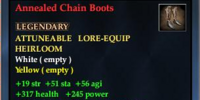 Annealed Chain Boots