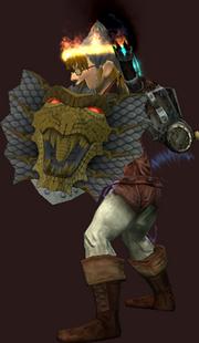 Dragon Hunter's Shield