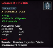 Greaves of Tirik'Rah