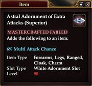 Astral Adornment of Extra Attacks (Superior)