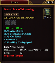 Breastplate of Mourning
