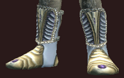 Striking woven boots (Equipped)