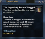 The Legendary Stein of Moggok