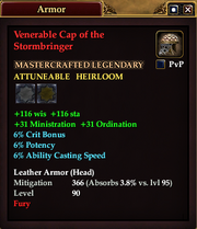 Venerable Cap of the Stormbringer