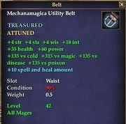 Mechanamagica Utility Belt