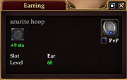 Azurite hoop