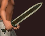 Blessed Short Sword of Karana (Equipped)