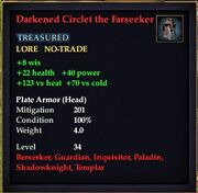 Darkened Circlet the Farseeker