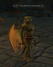 A Scaleborn banisher