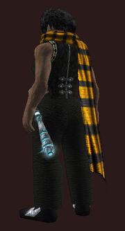 Orange-woolen-scarf