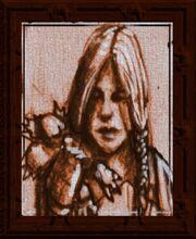 Roughspun Portrait (Visible)