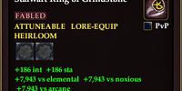 Stalwart Ring of Grindstone