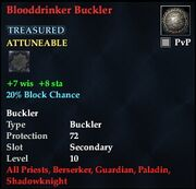 Blooddrinker Buckler