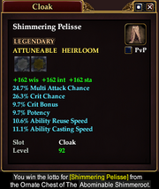 Shimmering Pelisse