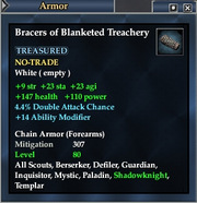Bracers of Blanketed Treachery