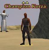 NPC Champion Korza