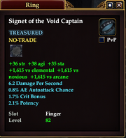 Signet of the Void Captain