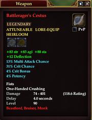 Battlerager's Cestus