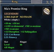 Nia's Promise Ring