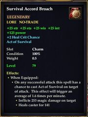 Survival Accord Broach