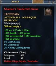 Shaman's Sundered Chains