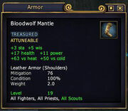 Bloodwolf Mantle