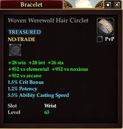 Woven Werewolf Hair Circlet