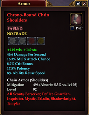 Chrono-Bound Chain Shoulders