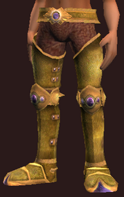 Runescribed Greaves (Equipped)
