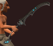 Shadowed Glaive (Equipped)