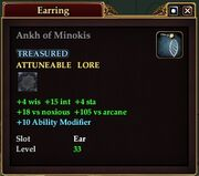 Ankh of Minokis
