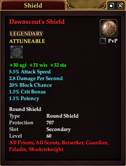 Dawnscout's Shield