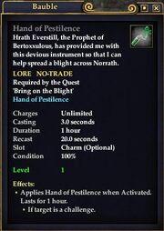 Hand of Pestilence