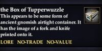 The Box of Tupperwuzzle