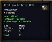 Crushbone Centurion Belt